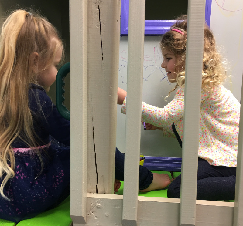 Making Friends At Indoor Playground Tampa