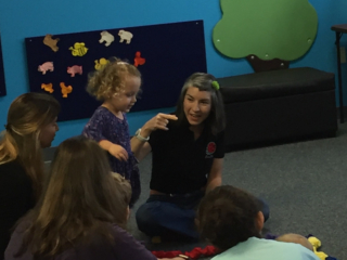 Family Circle At Indoor Play Center Tampa