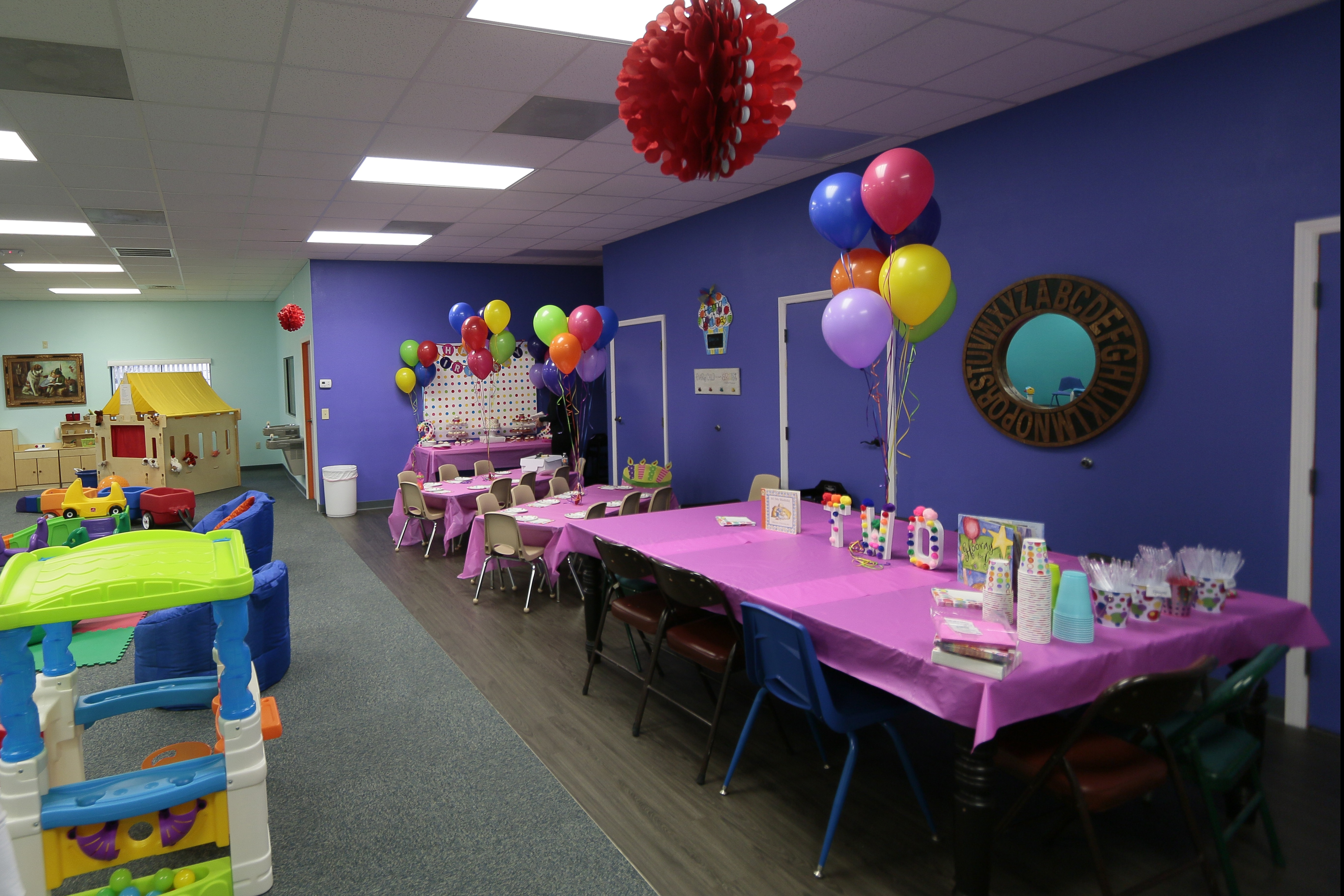 K Peas Birthday Tables