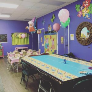 hosted kids birthday party tampa