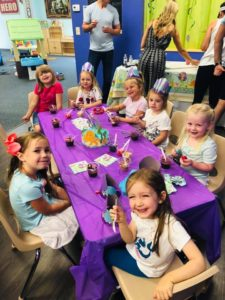 girls birthday party at k peas in tampa