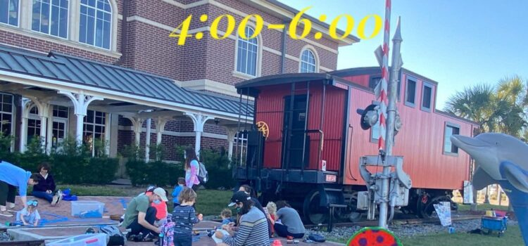 Weekend Egg Hunt | Music Class at the Train Station March 27th | Pinellas Park Station